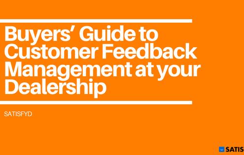 Guide to Customer Feedback